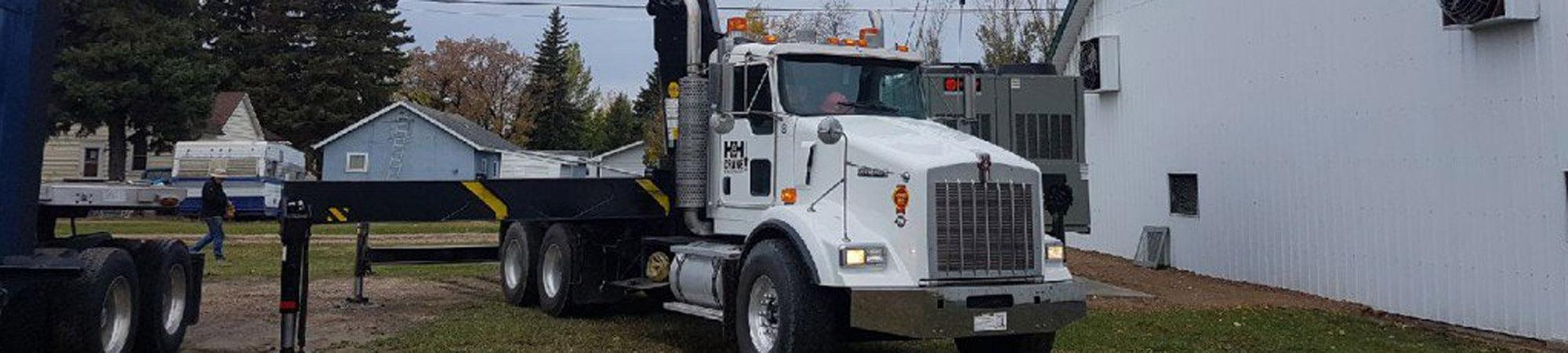 H&H Crane Ltd. Truck