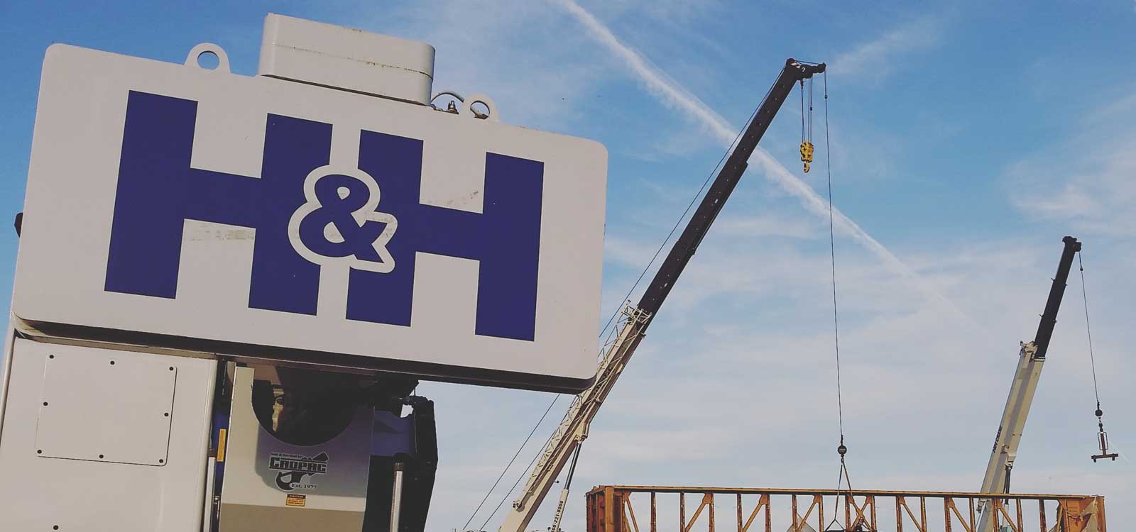 Logo and Cranes
