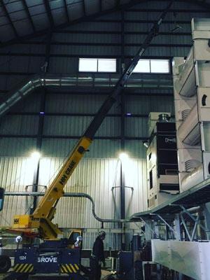 Warehouse Crane