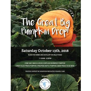 Pumpkin Drop flyer